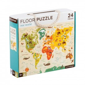 Puzzle Suelo OUR WORLD