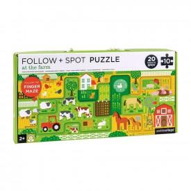 Puzzle Sigue y Observa FARM