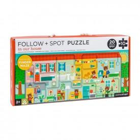 Puzzle Sigue y Observa HOUSE