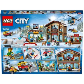 ESTACIÓN DE ESQUÍ LEGO CITY