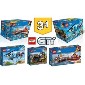 LEGO CITY PACK 3 EN 1