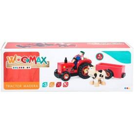 WOOMAX- TRACTOR DE MADERA...