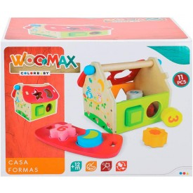 WOOMAX - CASITA CON FORMAS...