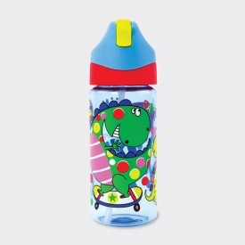 DRINKS BOTTLE WITH STRAW ‐...