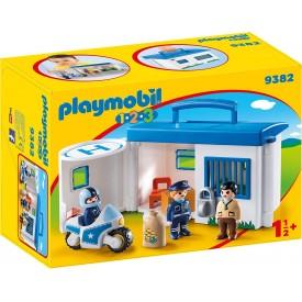 PLAYMOBIL 1.2.3 COMISARÍA...