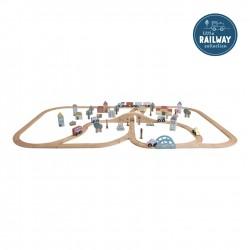 Ciudad sistema de trenes...