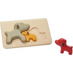 Puzzle Perros Plantoys