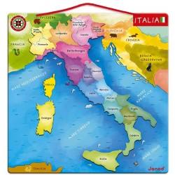 MAPA MAGNÉTICO DE ITALIA